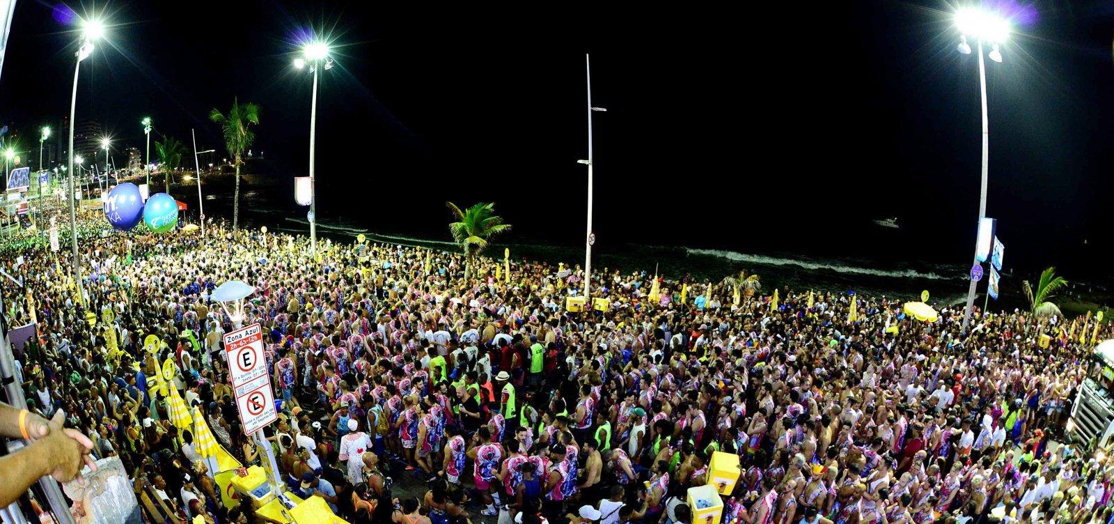 [Ocupação hoteleira no Carnaval já é 10% maior em comparação a 2019]