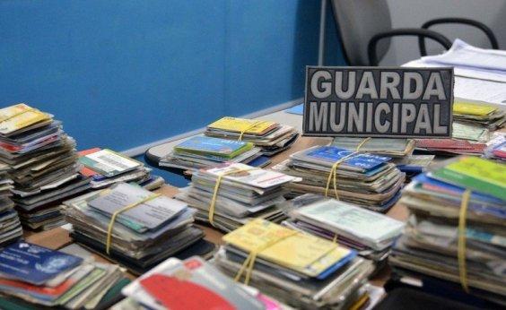 [Em dois dias de Carnaval, Guarda Municipal recupera 36 documentos perdidos]