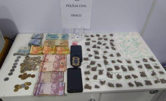 [Polícia intercepta suspeitos de tráfico na Roça da Sabina, deixa um morto e outro baleado]