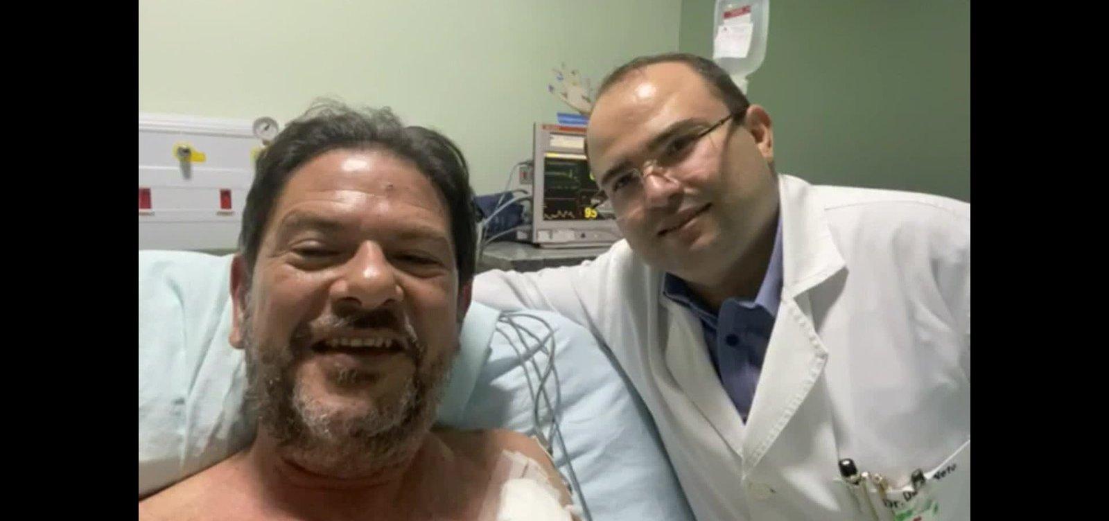 [Cid Gomes deixa hospital após ser baleado e ficará com projéteis alojados no corpo]
