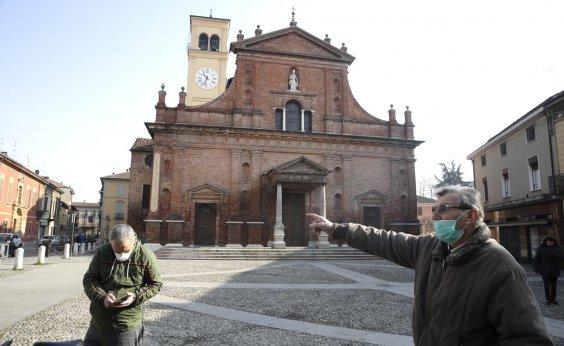 [Itália decreta 'toque de recolher' onde há casos do novo coronavírus]