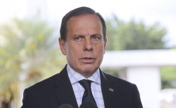 [Doria critica Bolsonaro por acusar PM-BA da morte de miliciano: 'Leviandade']