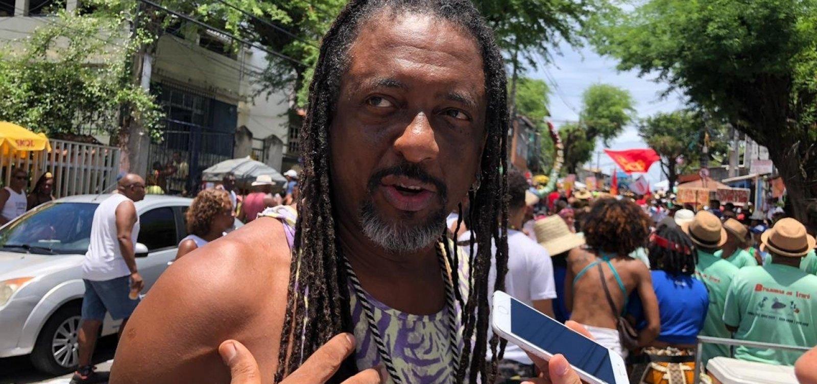 ['Verdadeira essência do Carnaval está na mudança do Garcia', diz Jorge Washington]