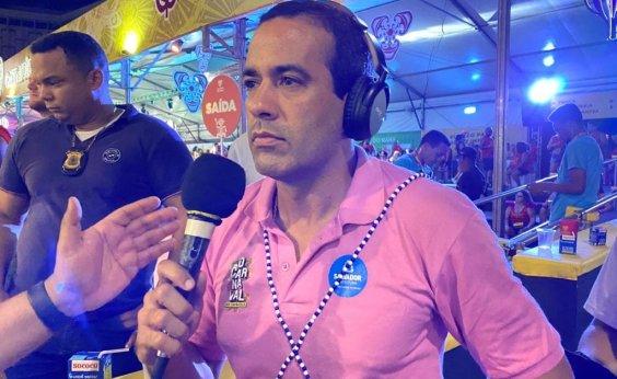 [Aliado de Kannário, Bruno Reis reprova comportamento: 'Declarações impertinentes']