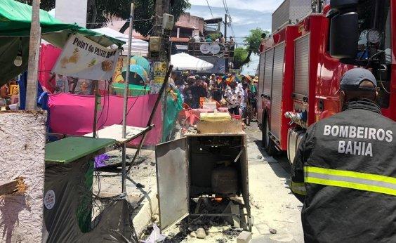 [Ministério Público pede laudo pericial de incêndio em carrinho na Mudança do Garcia]