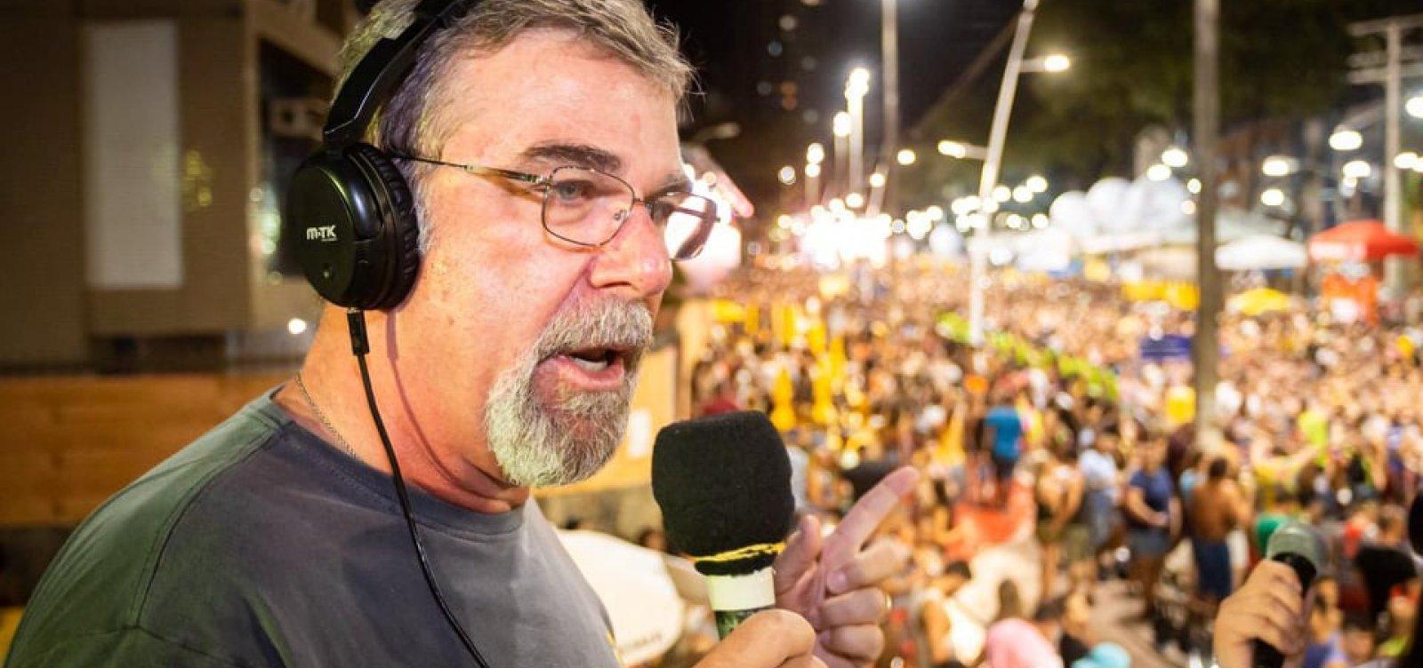 [ Fred Boat comemora sucesso do Carnaval: 'Turista voltou a frequentar Salvador']