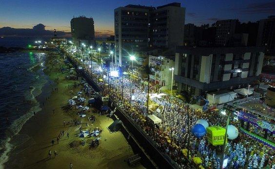 [Carnaval: ocupação hoteleira de Salvador tem média de 95% ]