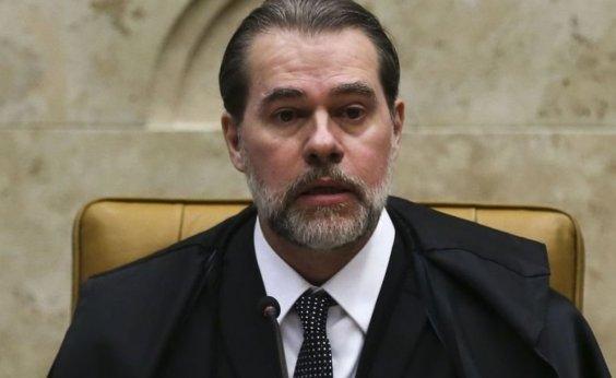 ['Brasil não pode conviver com um clima de disputa permanente', diz Toffoli]