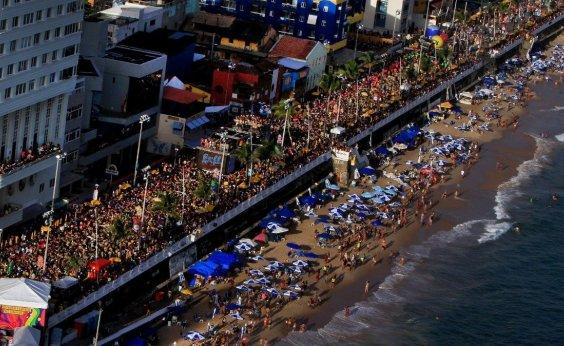 [Carnaval: 854 mil turistas visitaram a capital baiana]