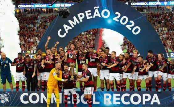 [Flamengo vence Independiente Del Valle por 3 a 0 e é campeão da Recopa Sul-Americana]