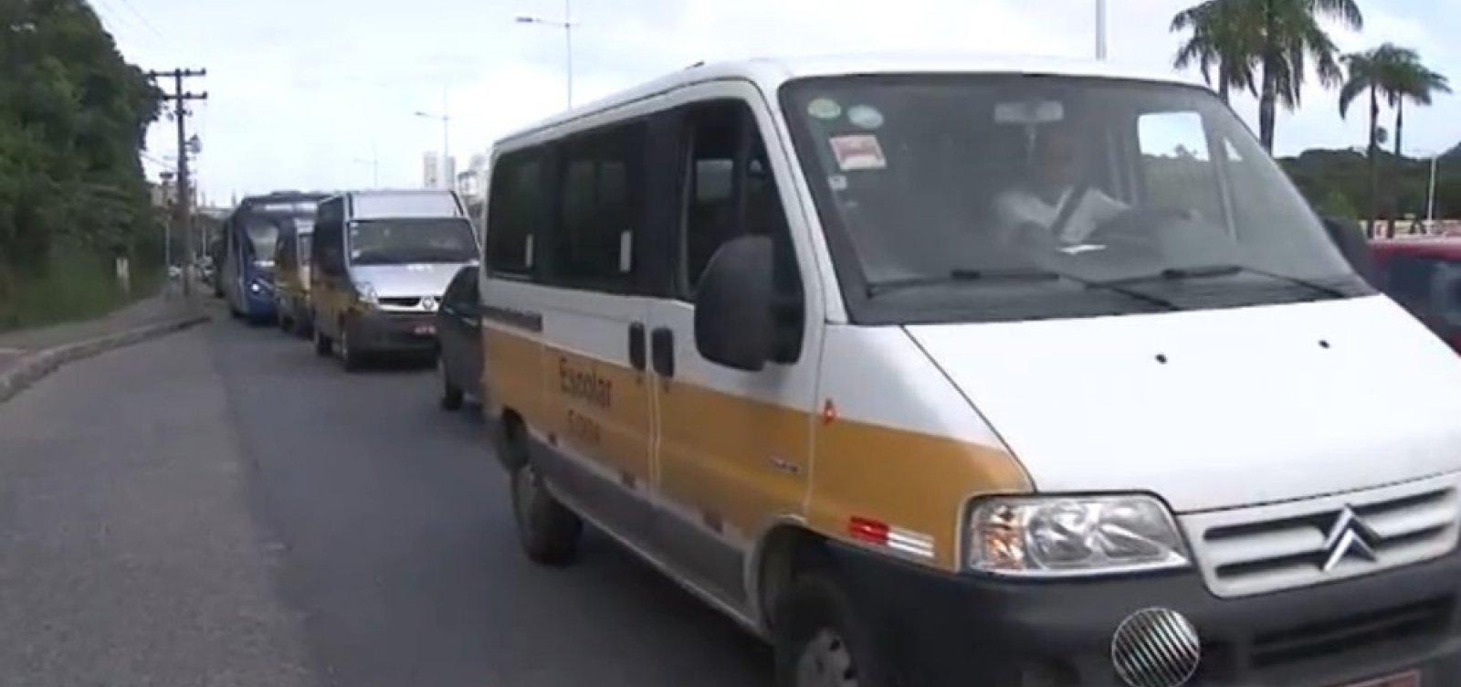 [Inspeção de veículos de transporte escolar em Salvador começa 16 de março]