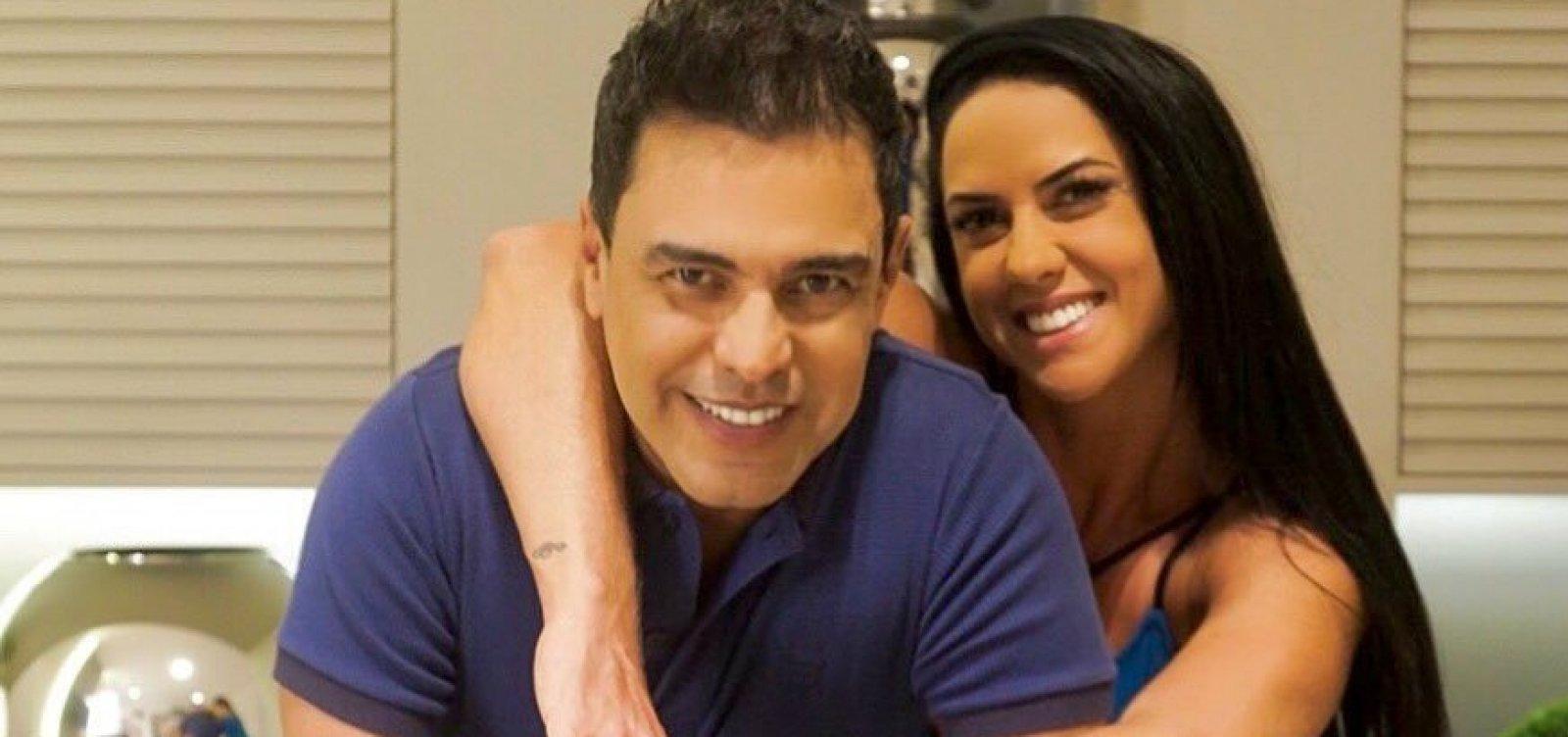 [Graciele lamenta shows cancelados de Zezé devido ao coronavírus: 'Sem entrar dinheiro' ]