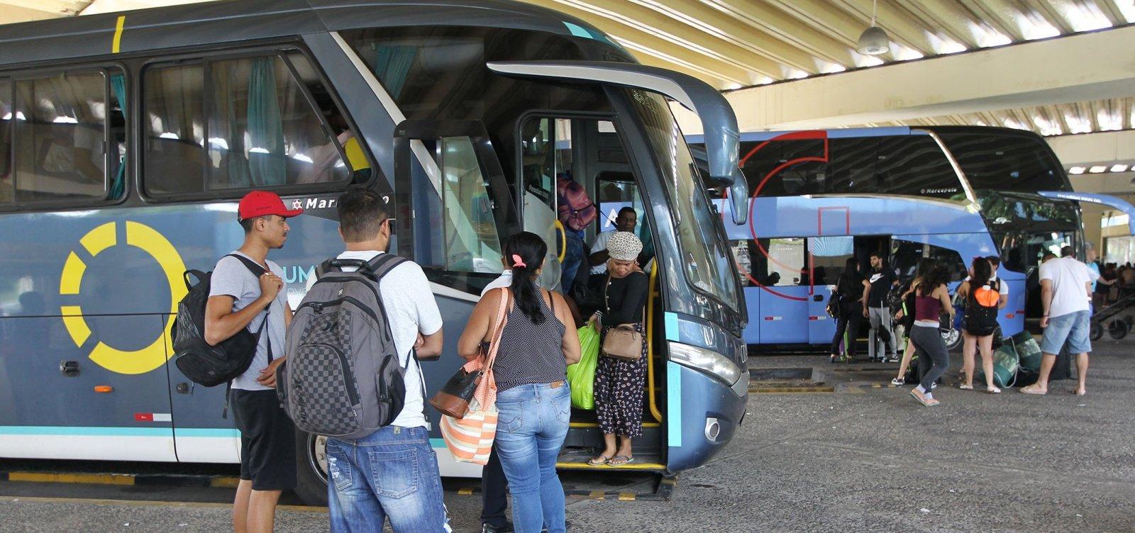 [Fechamento de rodoviárias baianas afeta cerca 137 mil passageiros]