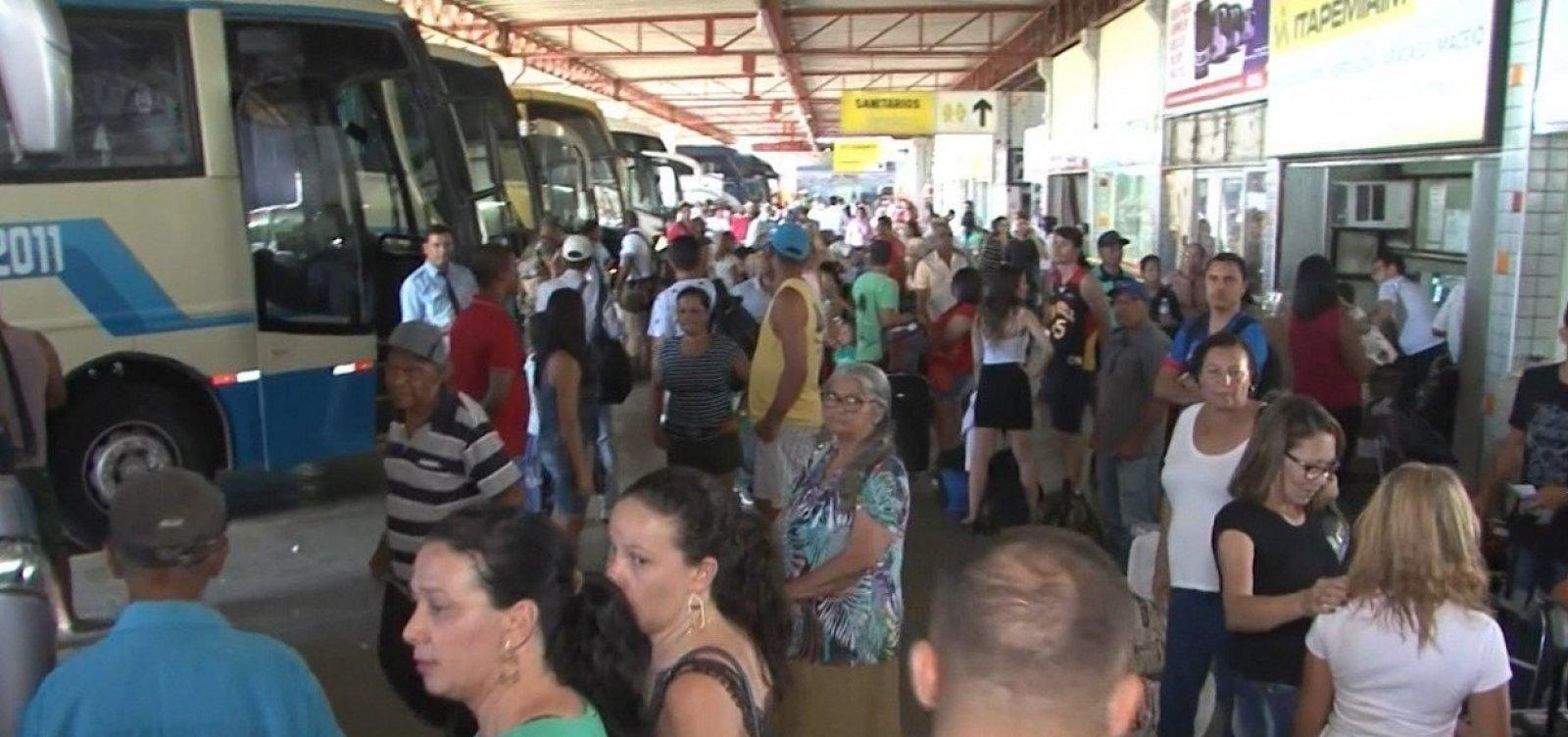 [Mais quatro cidades têm transporte intermunicipal suspenso na Bahia; total chega a 23]
