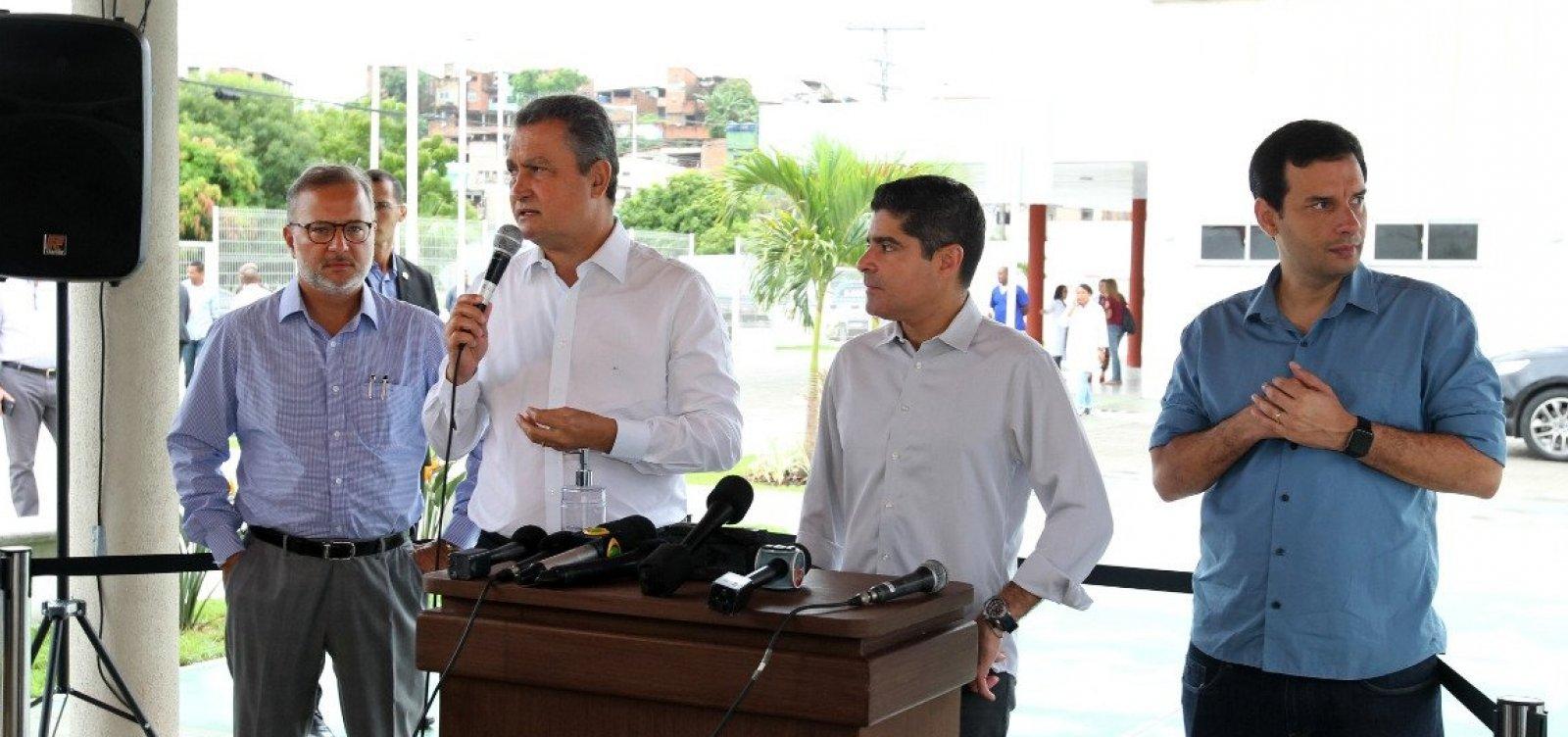 [Governador afirma que Bahia não tem casos graves de coronavírus na rede pública]