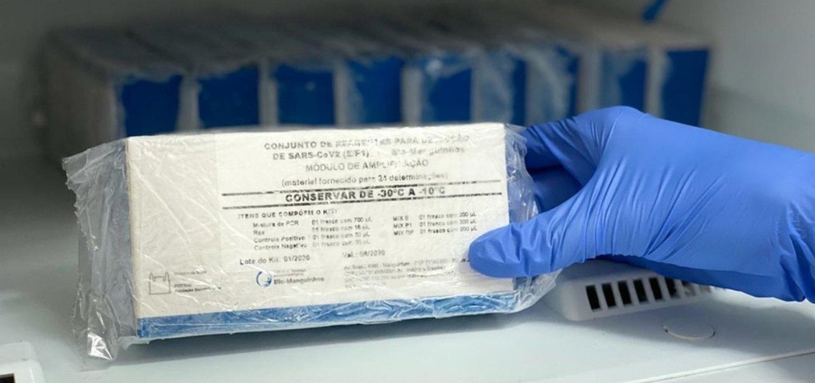 [Coronavírus: número de casos na Bahia sobe para 76]