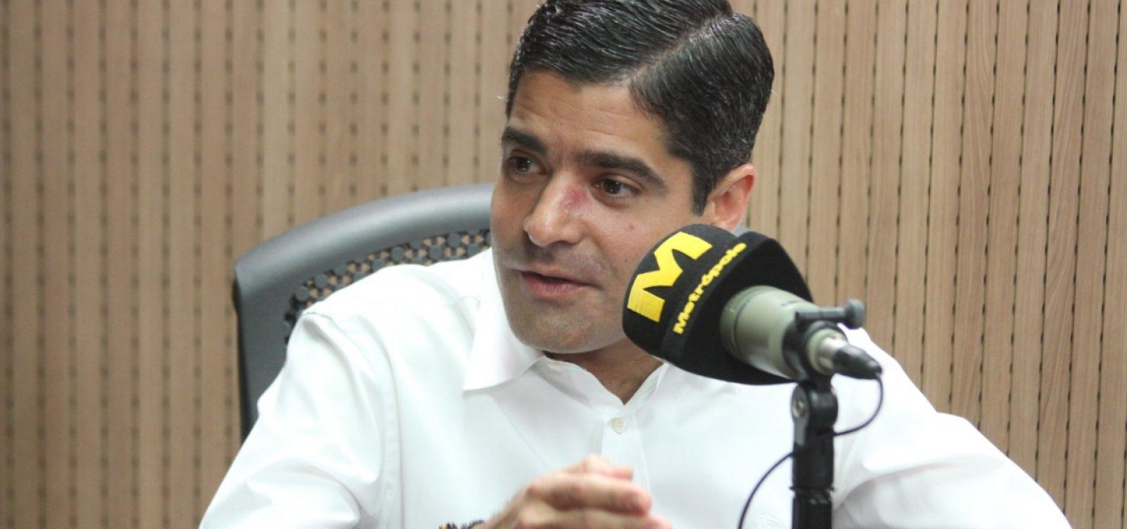 [ACM Neto acredita que Mandetta não deve recuar de posição após pronunciamento de Bolsonaro]