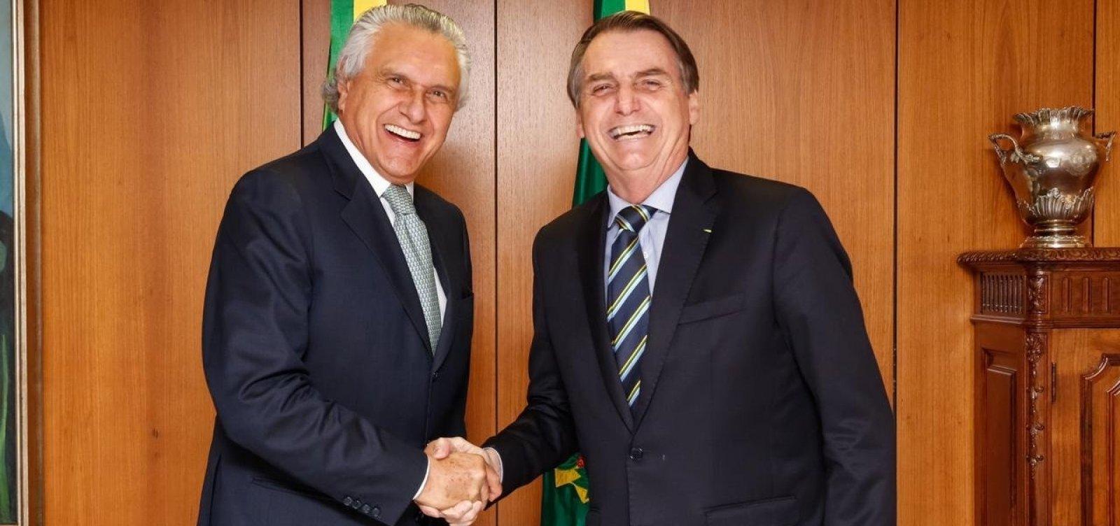[Ronaldo Caiado rompe aliança com Bolsonaro após pronunciamento do presidente]