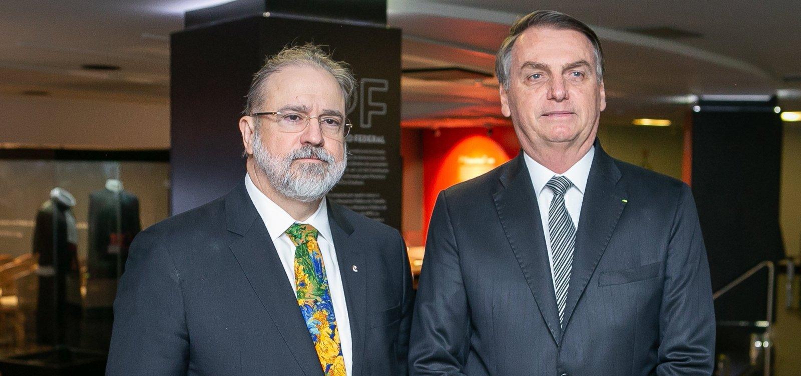 [Membros do MPF querem que Aras obrigue Bolsonaro a cumprir isolamento social]