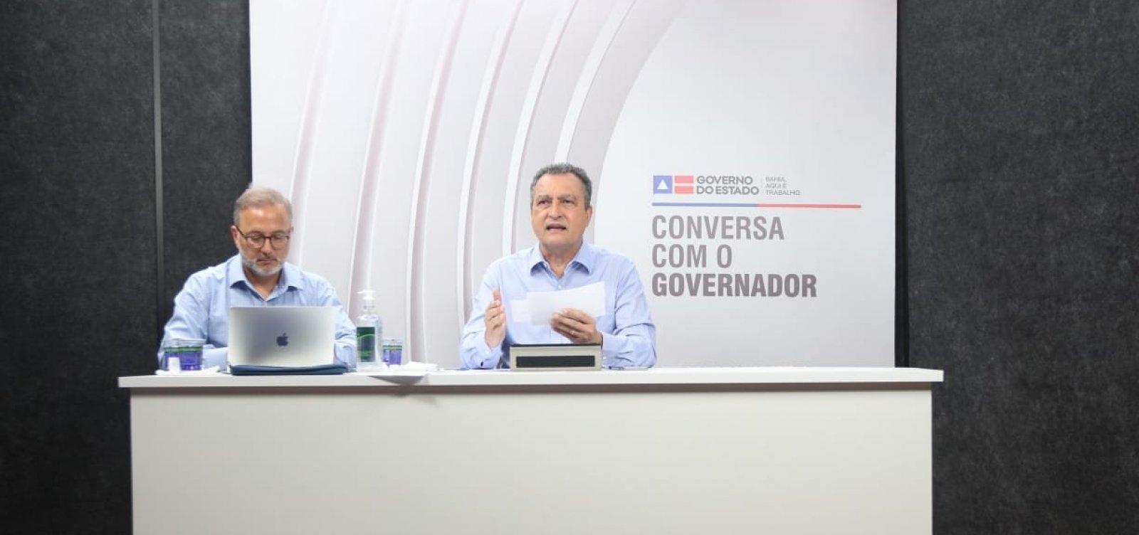 [Em reunião com prefeitos, Rui pede que rodovias não fiquem fechadas na Bahia]