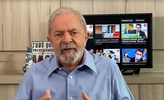 [Pela primeira vez Lula defende impeachment de Bolsonaro]
