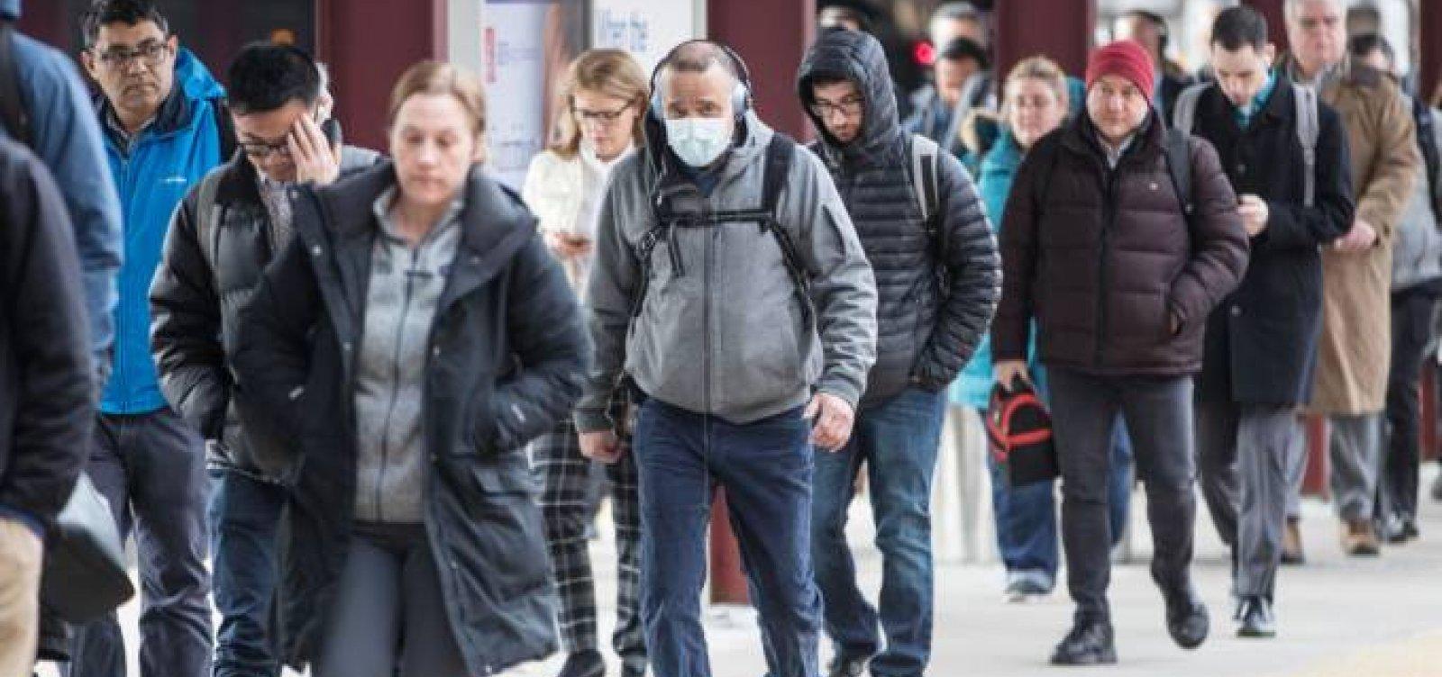 [EUA registram 68.440 casos de coronavírus e encostam na Itália]