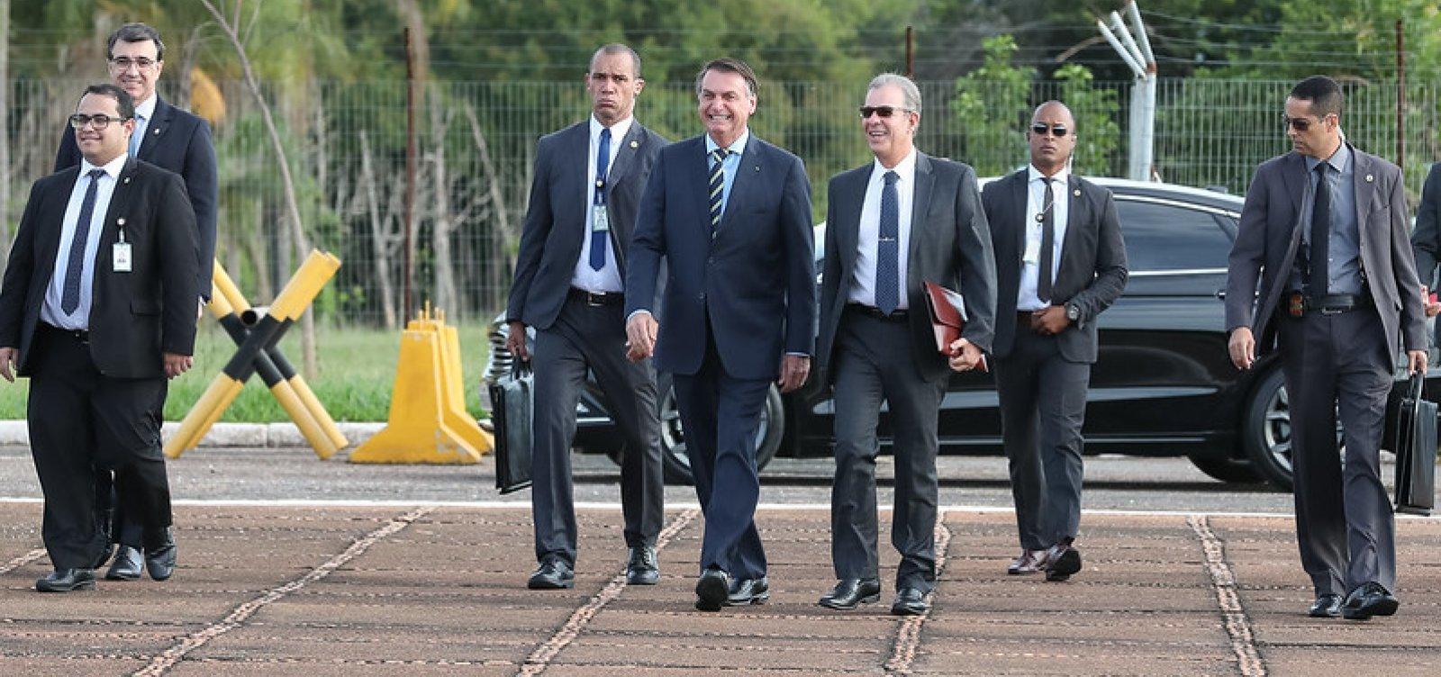[Covid-19: segurança de Bolsonaro é internado em estado grave]