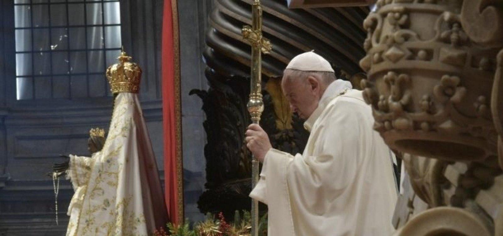 [Papa Francisco passa por novo exame para coronavírus; resultado dá negativo]
