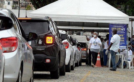 [Após alta procura, pontos de vacinação em Salvador são alterados]