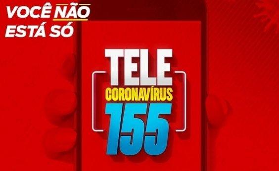 [Tele Coronavírus recebe mais de 6 mil ligações em três dias de operação]