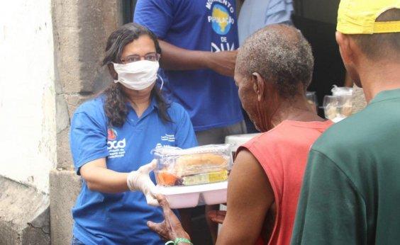 [Prefeitura inicia distribuição de 3 mil 'quentinhas' para pessoas em situação de rua em Salvador]