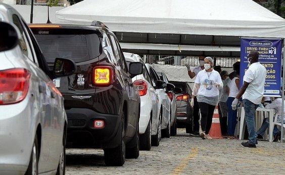 [Primeira semana de vacinação tem 224 mil pessoas imunizadas em Salvador]