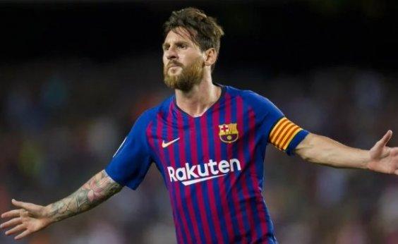 [Messi anuncia que jogadores do Barcelona aceitaram redução de 70% do salário durante pandemia]