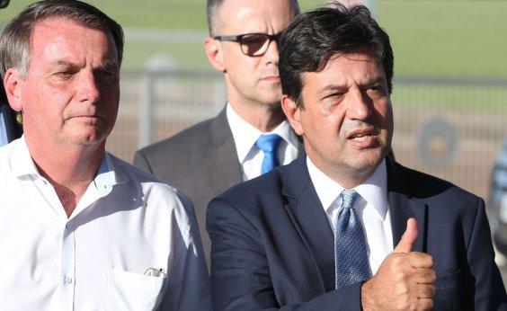 [Bolsonaro acaba com entrevistas de Mandetta e Planalto vai concentrar informações sobre coronavírus]