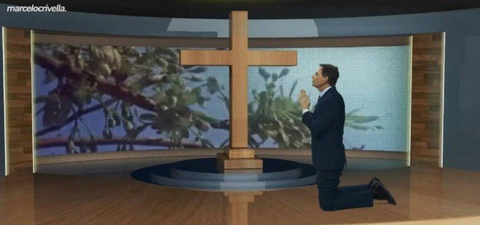 [Covid-19: Crivella faz oração de joelhos em vídeo e pede a Deus 'que essa doença vá embora']