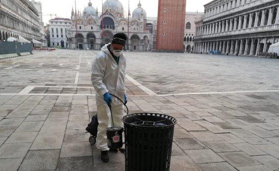 [ Itália avalia plano para sair do confinamento quando houver redução de casos de coronavírus]