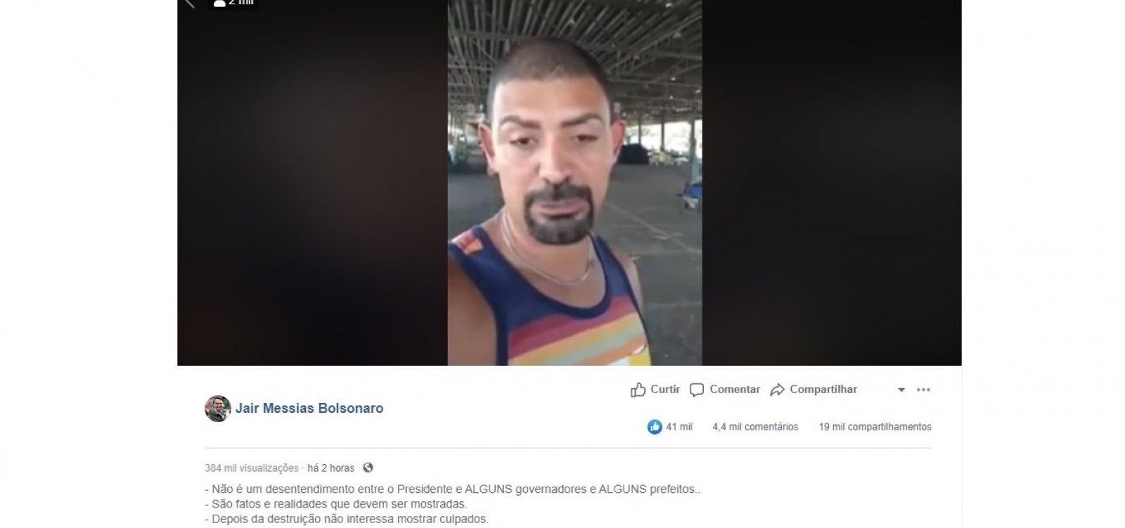 [Diferentemente de vídeo compartilhado por Bolsonaro, Ceasa de BH não registra desabastecimento]