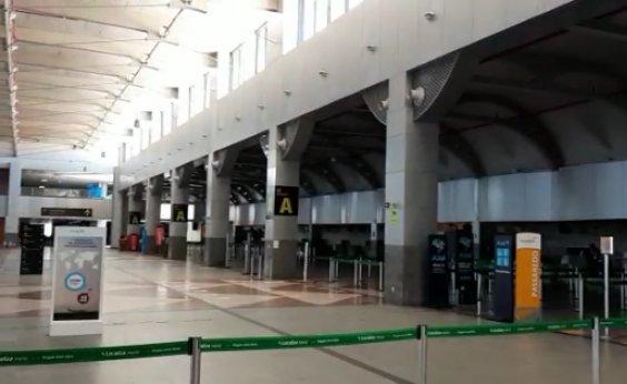 [Com queda no fluxo de voos, Aeroporto de Salvador reduz área de operação]
