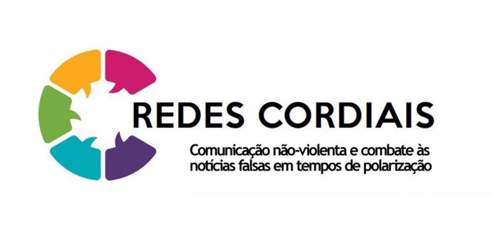 ['Redes Cordiais': projeto combate fake news em meio à pandemia de coronavírus]