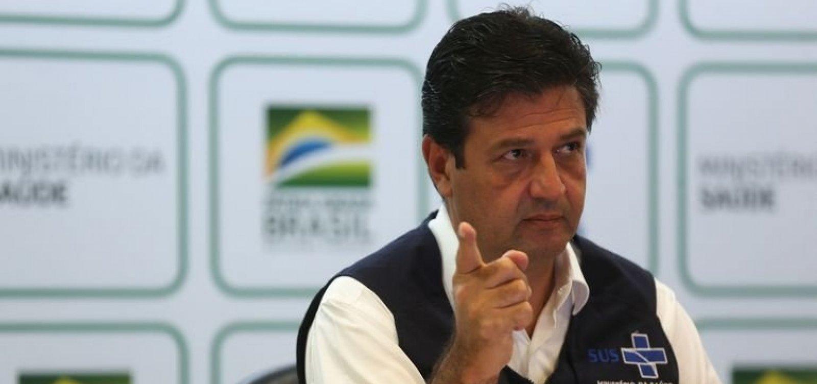 [Mandetta diz que, se necessário, Brasil vai enviar aviões à China para buscar equipamentos]