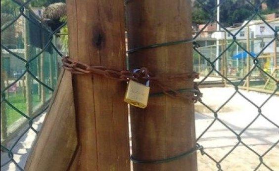 [Quadras e campos de Salvador começam a ser fechados pela Prefeitura]