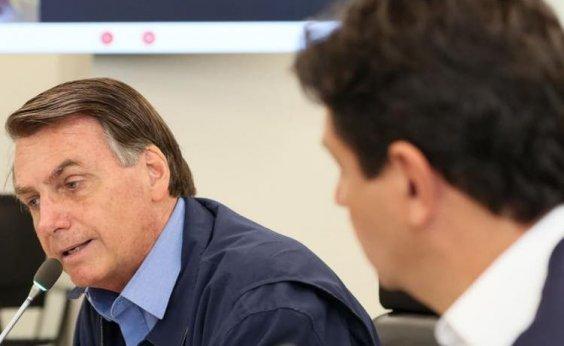 [Bolsonaro diz que falta humildade a Mandetta e afirma que 'nenhum ministro é indemissível']