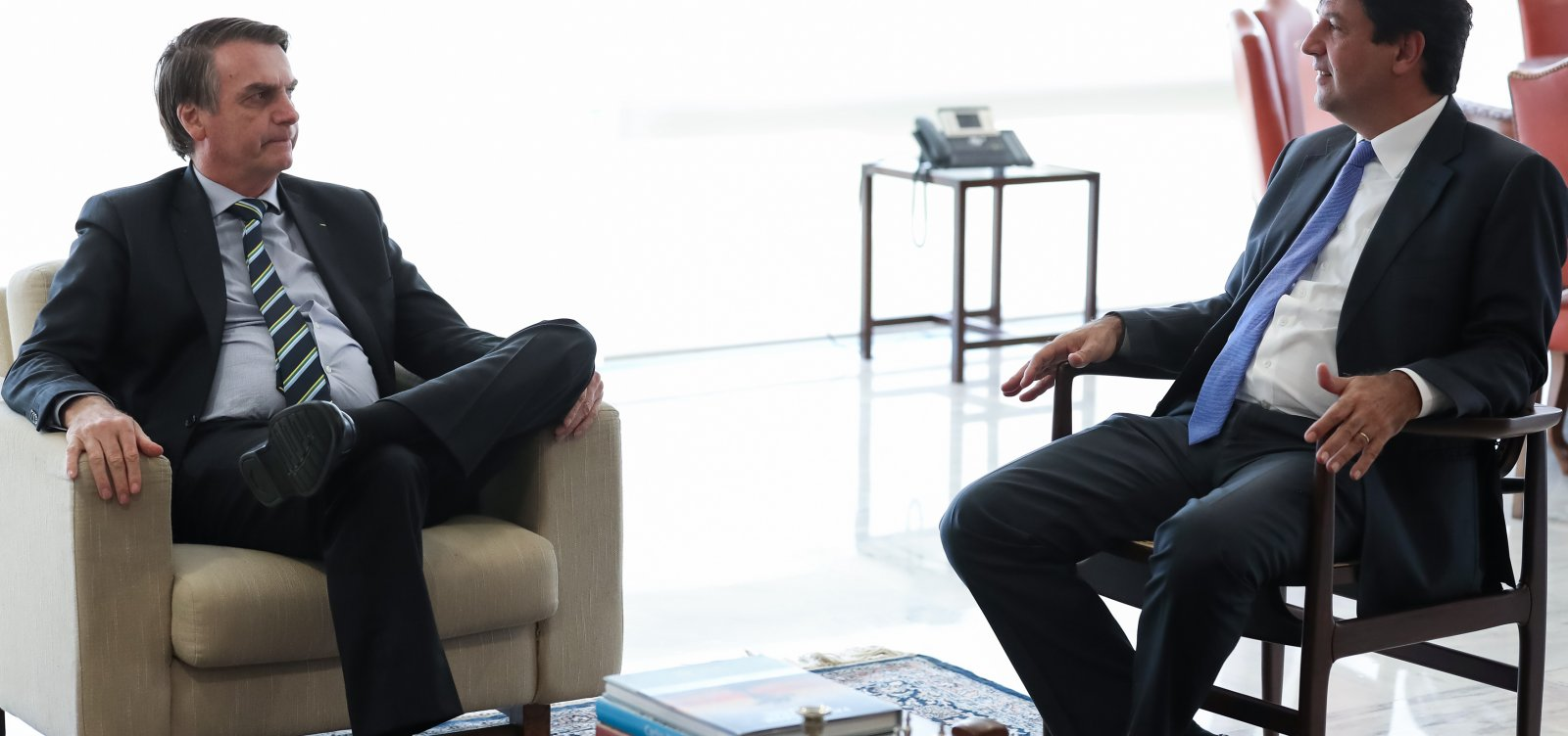 ['O senhor que me demita', diz Mandetta em briga com Bolsonaro por telefone]