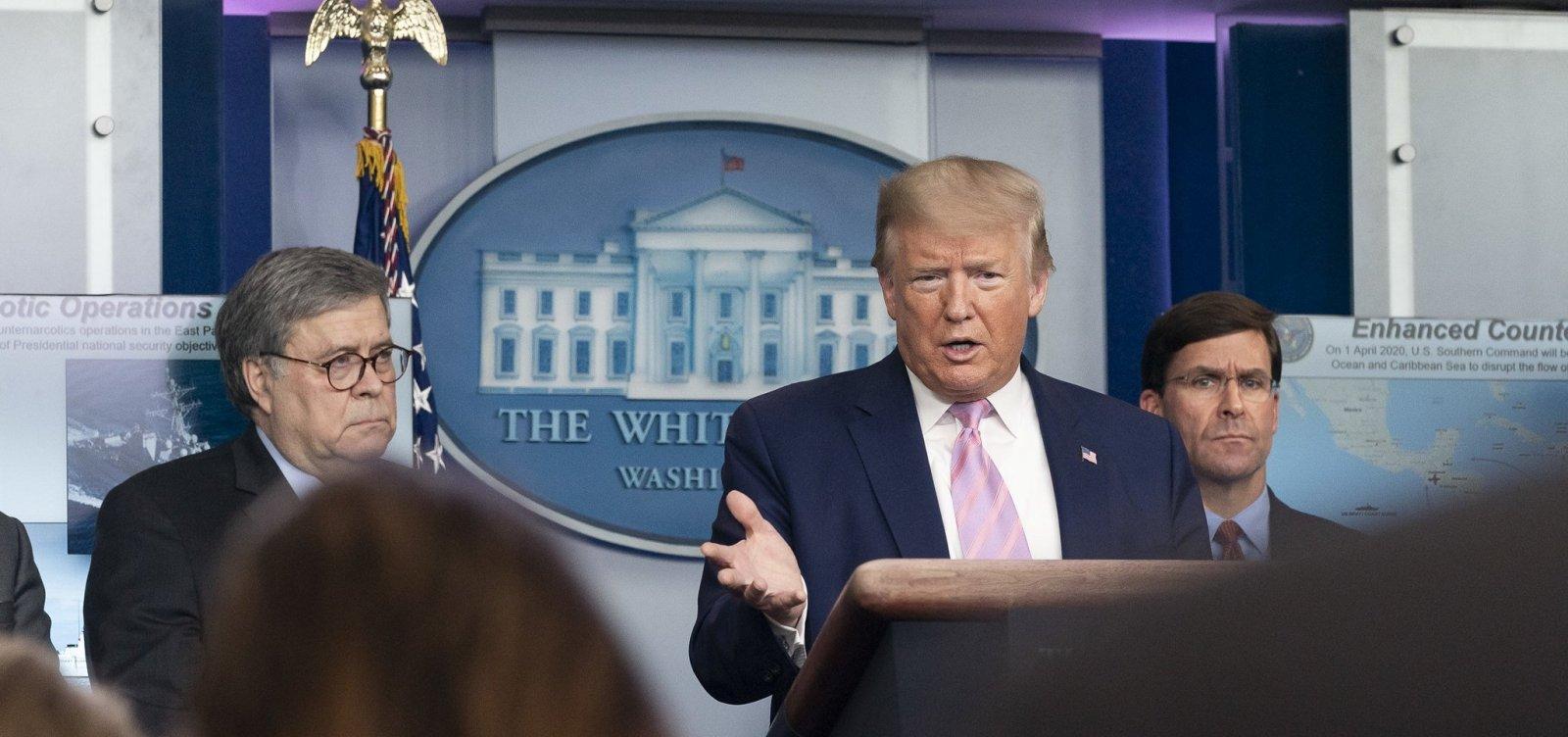 ['Não queremos outros conseguindo máscaras', diz Trump sobre equipamentos contra o coronavírus]