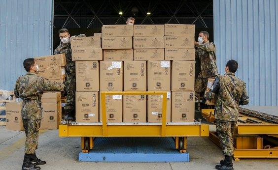 [Coronavírus: EUA são acusados de 'desvio' de equipamentos que iriam para Alemanha, França e Brasil]