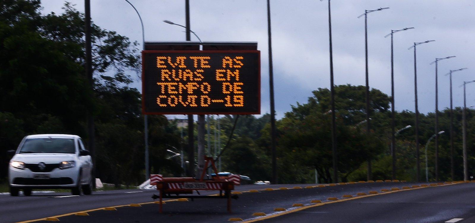 [Datafolha: 76% dos brasileiros defendem que as pessoas fiquem em casa]