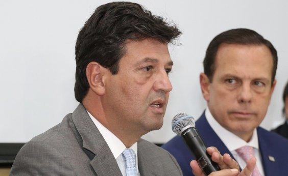 [Bolsonaro mira artilharia contra Doria e Mandetta no WhatsApp]
