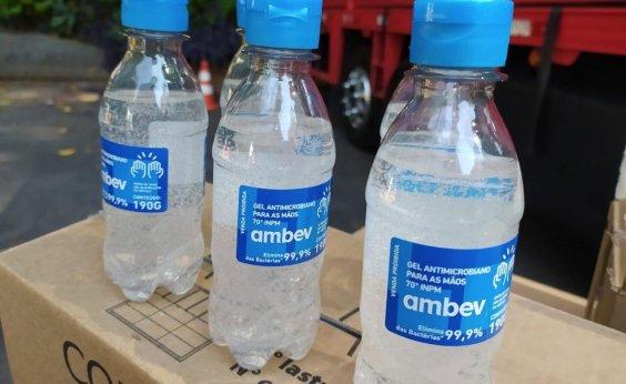 [Cervejaria doa álcool em gel para rede pública de saúde da Bahia]