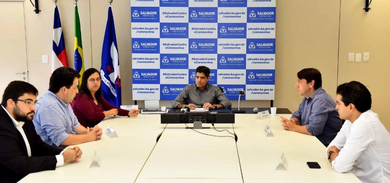 [Prefeitura firma acordo com órgão federal para distribuir 4 mil caixas d'água em Salvador]