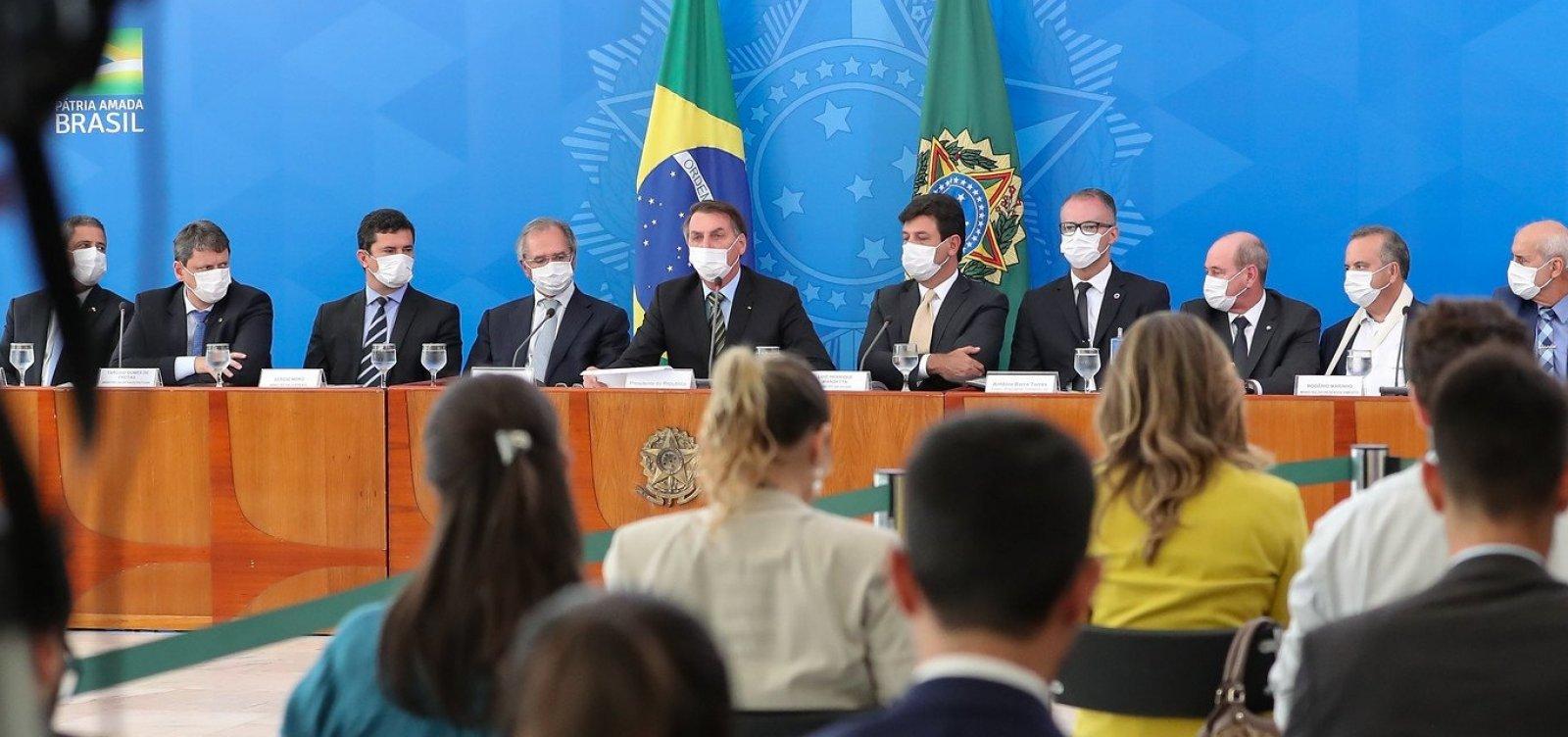 [Bolsonaro convoca Osmar Terra para reunião de ministros sem presença de Mandetta]